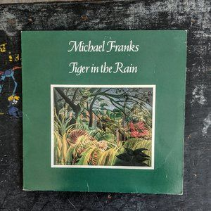 Other - Michael Franks Vinyl Record LP Tiger In The Rain